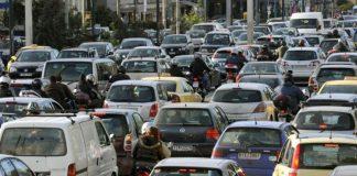"""""""Μποτιλιάρισμα"""" στους δρόμους της Αθήνας"""