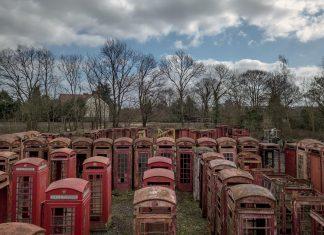 Το νεκροταφείο των βρετανικών τηλεφωνικών θαλάμων