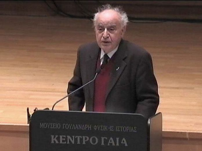 Πέθανε ο καθηγητής Κλασικής Φιλολογίας Φάνης Κακριδής