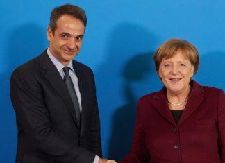 Ο Μητσοτάκης εξήγησε στην Μέρκελ γιατί η Ν.Δ. δεν θα ψηφίσει την συμφωνία των Πρεσπών