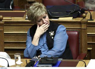 Παραιτήθηκε και η υφυπουργός Εθνικής Άμυνας, Μαρία Κόλλια – Τσαρουχά