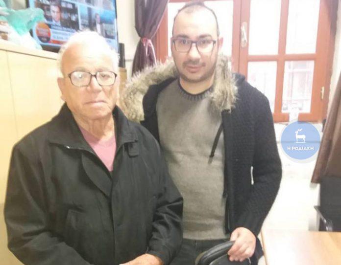 O Ροδίτης που βρήκε και παρέδωσε τσαντάκι με 4.250 ευρώ!