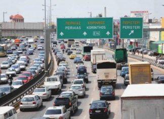 Κηφισός: Κυκλοφοριακό κομφούζιο λόγω τροχαίου