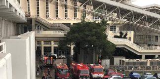 Πανικός στο ΟΑΚΑ - Από βραχυκύκλωμα πήρε φωτιά το Μηχανοστάσιο