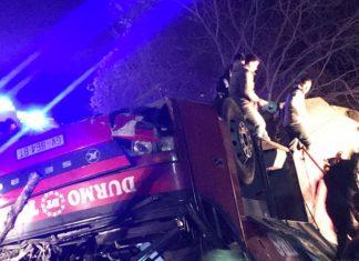Σκόπια: Πολύνεκρο τροχαίο με λεωφορείο