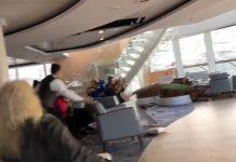 ΝΟΡΒΗΓΙΑ: Τρόμος από τα βίντεο στο εσωτερικό του ακυβέρνητου κρουαζιερόπλοιου