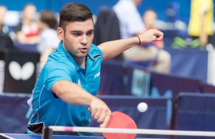 Ευρωπαϊκή πρωτιά και χρυσό μετάλλιο στο πινγκ πονγκ κατέκτησε ο Γιάννης Σγουρόπουλος