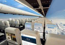 Τα αεροπλάνα στο κοντινό μέλλον δεν θα έχουν παράθυρα και θα προσφέρουν απίστευτη πανοραμική θέα στους επιβάτες (βίντεο - εικόνες)