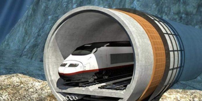 Αυτή είναι η μεγαλύτερη υποθαλάσσια σιδηροδρομική σήραγγα στον κόσμο που βρίσκεται υπό κατασκευή