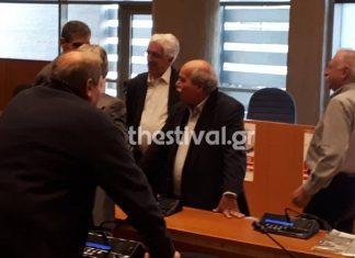 Αποδοκίμασαν τον Βούτση για την Συμφωνία των Πρεσπών σε εκδήλωση του ΣΥΡΙΖΑ