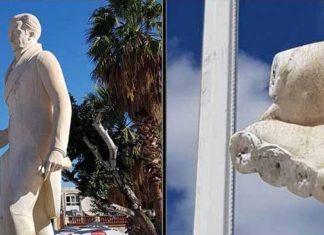Ναύπλιο: Βανδάλισαν τα… δάχτυλα από το άγαλμα του Καποδίστρια!