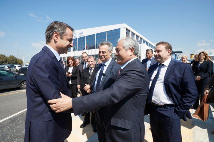 Μητσοτάκης: «Στηρίζουμε ανεπιφύλακτα την επένδυση στο λιμάνι του Πειραιά»