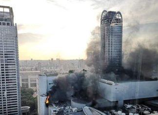 ΜΠΑΝΓΚΟΚ: Συγκλονίζουν οι πρώτες εικόνες από την φωτιά σε ξενοδοχείο
