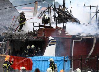 ΧΙΛΗ: Έξι νεκροί από πτώση αεροπλάνου σε σπίτι