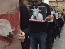 Βουβή διαμαρτυρία στην Ερμού