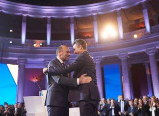 Βέμπερ: Όταν θα ξαναέρθω ο Κυριάκος θα είναι πρωθυπουργός