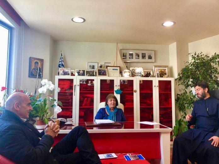 Ο υποψήφιος Δήμαρχος Αθηναίων Γιώργος Βουλγαράκης στην «Κιβωτό του κόσμου»
