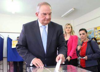 Θεσσαλονίκη: Ψήφισε ο Κώστας Καραμανλής