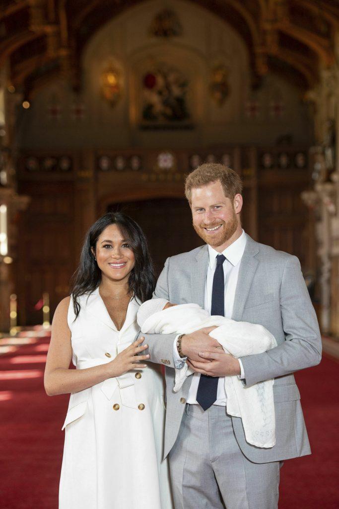 H πρώτη δημόσια εμφάνιση του μωρού του Χάρι και της Μέγκαν