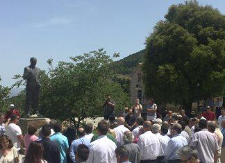 Το Καλέντζι τίμησε τη μνήμη του Α. Παπανδρέου