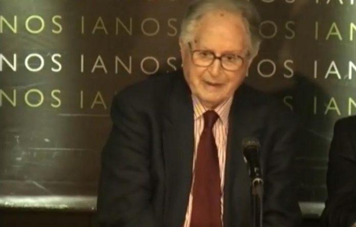 «Έφυγε» από τη ζωή ο πρώην υπουργός Νίκος Λιναρδάτος