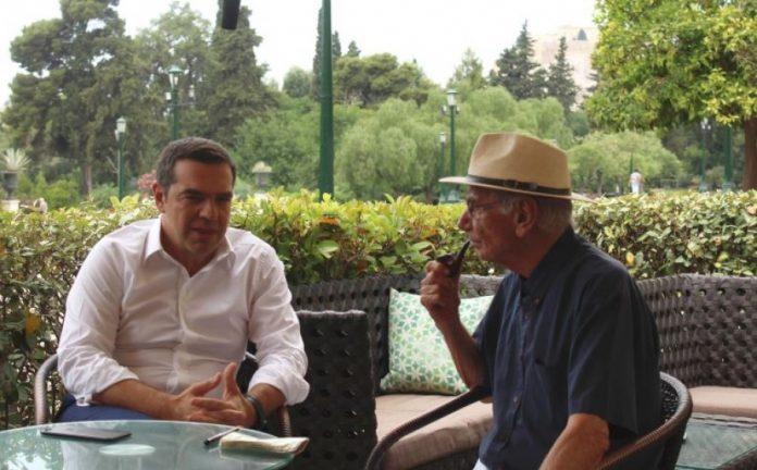 Τσίπρας - Βασιλικός ήπιαν καφέ στο Ζάππειο