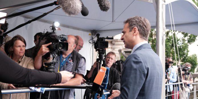 Μητσοτάκης: Να αντιμετωπιστούν σε ευρωπαϊκό επίπεδο οι προκλήσεις της Τουρκίας