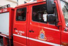 Μεγαλόπολη: Σε εξέλιξη μεγάλη φωτιά σε δύσβατη περιοχή