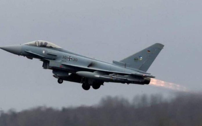 ΓΕΡΜΑΝΙΑ: Συντριβή δύο μαχητικών Eurofighter