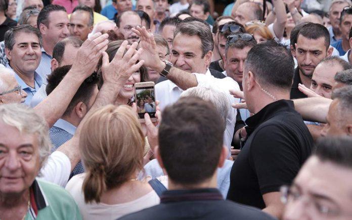 Μητσοτάκης από Θεσσαλονίκη: Όλη η Ελλάδα θα είναι γαλάζια την Κυριακή το βράδυ