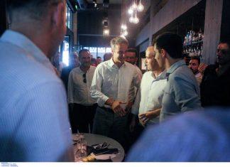 Στο Παγκράτι το γεύμα του προέδρου της ΝΔ Κ. Μητσοτάκη με τους πολιτικούς συντάκτες