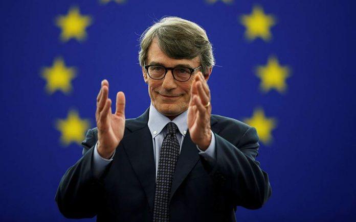 Νέος πρόεδρος του Ευρωπαϊκού Κοινοβουλίου ο Ιταλός Ντ. Σασόλι
