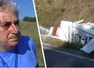 Γρεβενά: Αναγκαστική προσγείωση αεροσκάφους σε παράδρομο της Εγνατίας