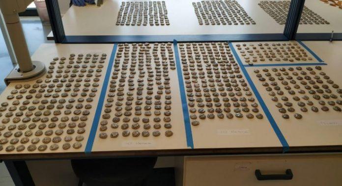Εντοπισμός αρχαίων ελληνικών νομισμάτων από το τελωνείο Κήπων