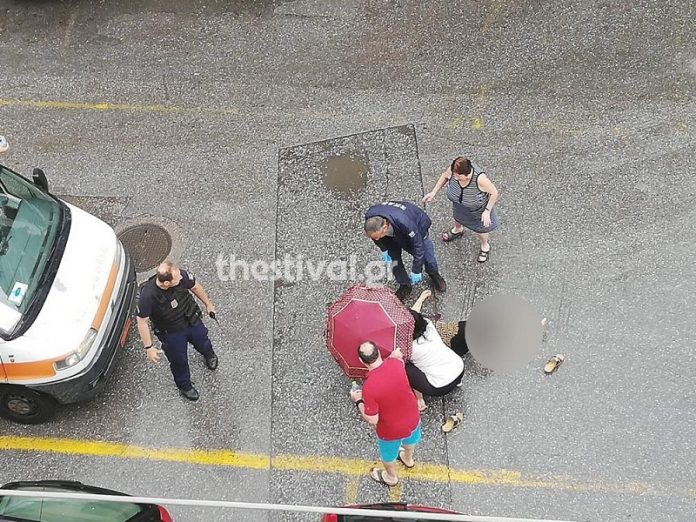 Θεσσαλονίκη: Άνδρας επιτέθηκε με τσεκούρι σε γυναίκα και την τραυμάτισε