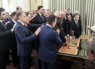 Ορκίστηκε το νέο υπουργικό συμβούλιο