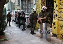 Εξάρχεια: Τέσσερις συλλήψεις σε κτίριο που τελούσε υπό κατάληψη