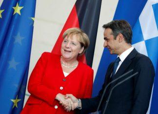 Συνάντηση Μέρκελ - Μητσοτάκη τη Δευτέρα για την κατάσταση στα σύνορα