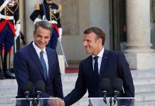 Συνάντηση Μακρόν - Μητσοτάκη: Επιδίωξη της Αθήνας είναι η αναβίωση του «Ελλάς - Γαλλία - Συμμαχία»