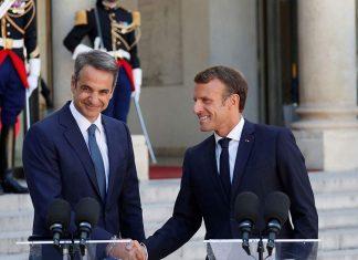 Μακρόν: Στηρίζουμε Ελλάδα και Κύπρο, ο Ερντογάν παραβιάζει τη συμφωνία για τη Λιβύη