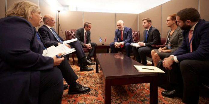Μητσοτάκης - Ράμα συμφώνησαν οι δύο χώρες να διευθετήσουν τα ζητήματα που εκκρεμούν από το παρελθόν