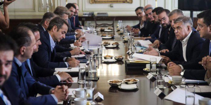 Σύσκεψη Μητσοτάκη με Περιφερειάρχες: Τι συζήτησαν για ΕΣΠΑ και νέα νομοσχέδια