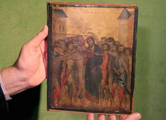 ΓΑΛΛΙΑ: Μεσαιωνικός πίνακας αξίας 6 εκατ. ευρώ βρέθηκε στην κουζίνα ηλικιωμένης γυναίκας
