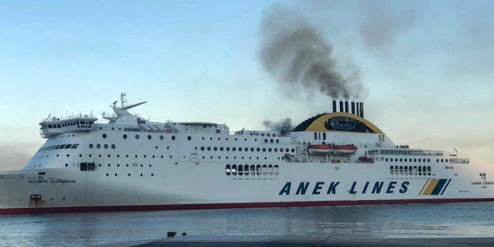 Ηγουμενίτσα: Ζημιές σε φορτηγά και εμπορεύματα λόγω της φωτιάς στο Olympic Champion