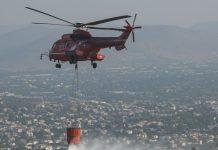 Πολύ υψηλός κίνδυνος πυρκαγιάς αύριο στην Αττική