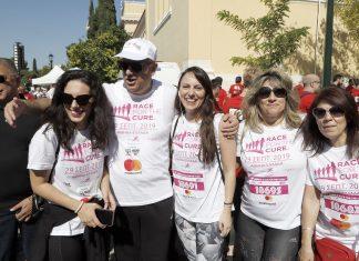 Greece Race for the cure: Ο Τ. Θεοδωρικάκος στηρίζει τον εθελοντισμό στον αγώνα ενάντια στον καρκίνο του μαστού
