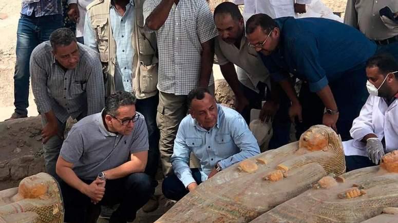 ΑΙΓΥΠΤΟΣ: Μεγάλη ανακάλυψη στο Λούξορ - Το Σάββατο η ανακοίνωση του υπουργείου μνημείων της Αιγύπτου