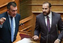 Βουλή: Καβγάς στη Βουλή μεταξύ Βρούτση-Τζανακόπουλου – Αντάλλαξαν βαριές κουβέντες