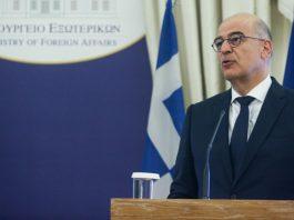 Δένδιας: Είμαστε σταθερά δίπλα στην ελληνική μειονότητα στην Αλβανία