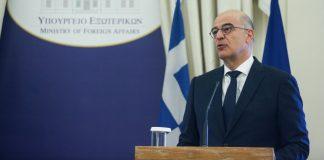 Δένδιας: Ζήτησα καταδίκη και πλαίσιο κυρώσεων από την Ε.Ε.